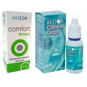Капли Avizor Comfort Drops 15 мл (авизор комфорт дропс)