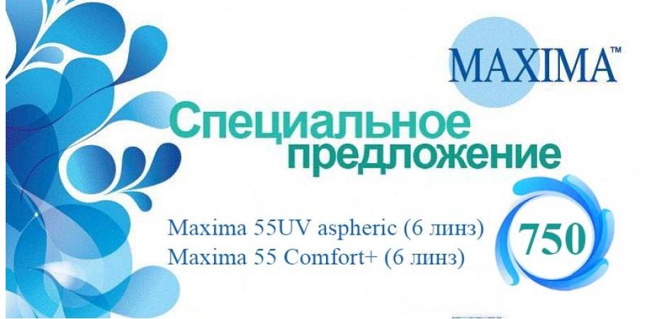 Контактные линзы maxima
