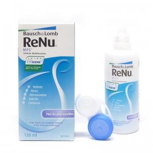 Раствор Renu MPS для чувствительных глаз (с контейнером) 120 мл (реню МПС)