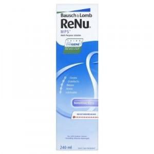 Раствор Renu MPS для чувствительных глаз (с контейнером) 240 мл (реню МПС)