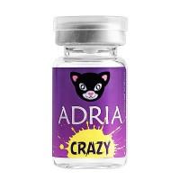 Карнавальные линзы Adria Crazy (1 линза во флаконе)
