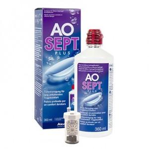 Раствор Aosept Plus 360 мл (с контейнером)