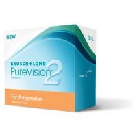 Торические линзы Pure Vision 2 HD for Astigmatism (3 линзы )