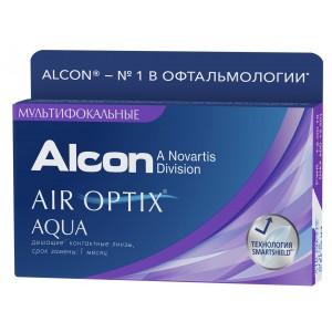AIR Optix Aqua Multifocal (3 линзы) (эир оптикс аква мультифокальные)