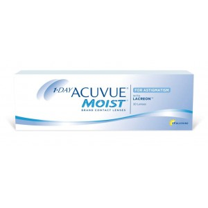 1 DAY ACUVUE MOIST for ASTIGMATISMT 30 линз (акувью моист астигматизм)