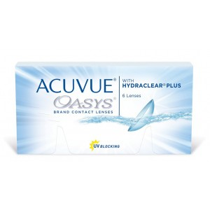 Acuvue OASYS (акувью оазис) (6 линз)