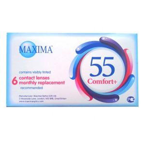 Maxima 55 comfort plus (6 линз) (Максима 55 комфорт плюс)