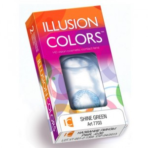Illusion Colors (Иллюжен колорс) (2 линзы)